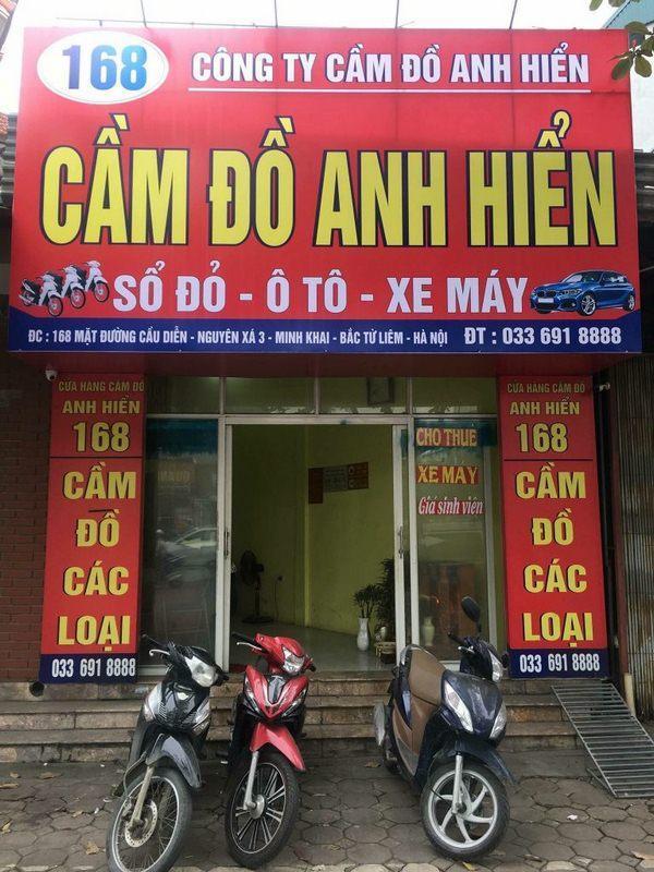 Cầm Đồ Anh Hiển - Địa cầm xe máy uy tín tại Hà Nội