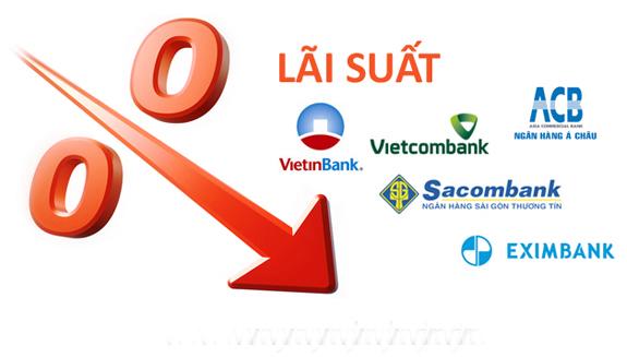 lãi suất của các ngân hàng