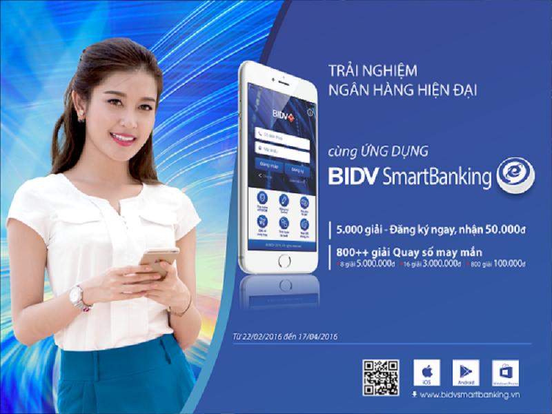 kiem tra tai khoan bang dich vu BIDV Smart Banking